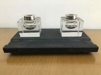 Art Deco Antico Calamaio In Marmo Anni 30 antique inkstand