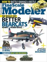 Fine Scale Modeler Magazine October 2020 Better Bearcats F8F Build-Off