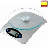Balanza electronica de cocina bascula DE 1g A 5000g 5Kg Peso DE cocina