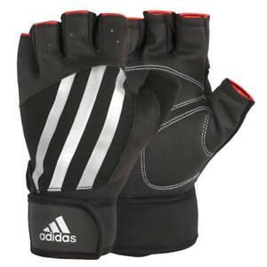 Adidas Elite Weight Lifting Gloves Gym Bodybuilding Training Exercise Workout