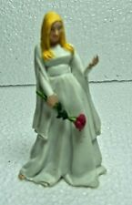 "2003 White Garden Princess 3.5"" Papo PVC Action Figure"