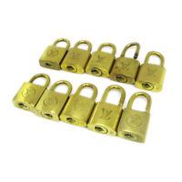 LOUIS VUITTON Padlock Bag Accessories Charm 10 Piece Set Gold T04746