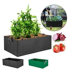 Square plant vegetable Grow Bag pots fabric Garden flowe gardening tool for yard