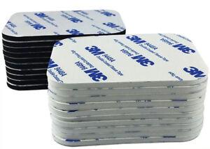 White & Black ~ 3M EVA Foam Sticky SELF ADHESIVE PADS ~ 2mm & 3mm thick ~ 9448A