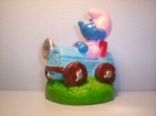 smurfs BIPS Candy topper Baby smurf in car SN0042