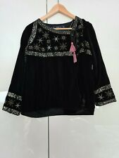 Zara Embroidered Stars Velvet Jacket SOLD OUT RRP £69 Size M