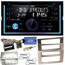 JVC KW-DB93BT USB Bluetooth DAB+ CD Einbauset für Ford Focus C-Max Fiesta Transi