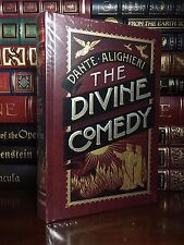 Dante's Divine Comedy New Sealed Illustrated Leather Bound Dante Collectible