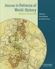 Sources in Patterns of World History: Volume 2: Since 1400