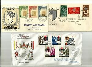 Malta 6 FDC 1957-66 one addressed to Antigua, a very attractive collection of fi