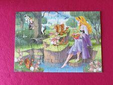 Disney Sleeping Beauty 50 Piece Jigsaw Puzzle 215mm x 305mm (VG Condition)