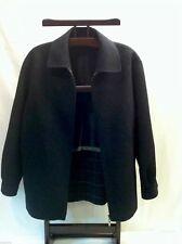 Malubel Sydney Wool Blend Charcoal Gray Jacket Womens Size 12 M