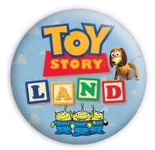Walt Disney World Toy Story Land Opening 1.75 Button Slinky Dog Little Green Men