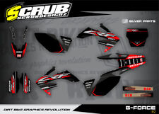 Honda graphics CRf 450R 2002 2003 2004  decals '02 '03 '04 SCRUB Motocross