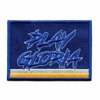 St Louis Play Gloria Hockey Embroidered Iron-on Patch