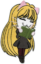 """Black Cat Anime Eve Patch 3"""" x 2"""" Licensed by GE Animation 7213 Free Ship"""