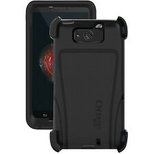 OtterBox Defender Black Case And Holster Clip For Motorola Droid Maxx
