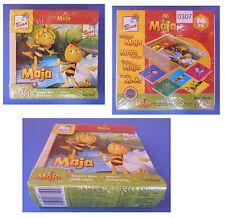 Ape Maia memory in legno, coppie, memo, memoria, Maja, Maya the bee, Bino 13619
