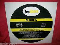 """MOREA Paparaja 12"""" 45rpm LP 1991 MINT- ITALY Rare Italo Disco Tony Cercola"""