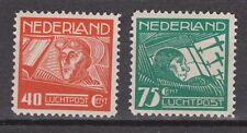 LP 4-5 luchtpost 4-5 MNH PF NVPH Nederland Netherlands airmail