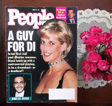 Princess Diana John Kennedy Jr. People Magazine Week before she died 1997 HTF