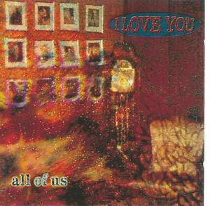 CD album I LOVE YOU - ALL OF US - ROCK METAL