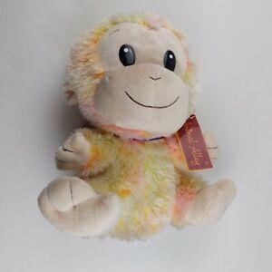 Animal Alley Plush Monkey Toys R Us 2009 Geoffrey pastel rainbow stuffed animal