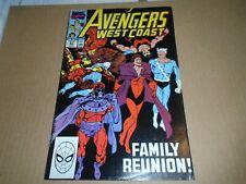 AVENGERS WEST COAST #57 Marvel Comics FN/VF 1990