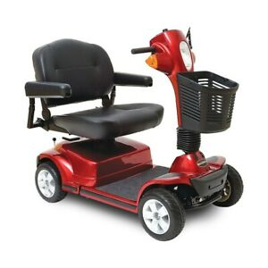 Pride Mobility MAXIMA Bariatric 500 lbs Heavy Duty Electric Scooter SC940 RED/BL