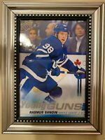 2019-20 UPPER DECK RASMUS SANDIN YOUNG GUNS OVERSIZED #222