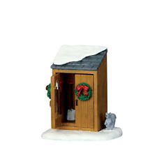 LEMAX CHRISTMAS VILLAGE ACCESSORIES - UTILITY SHED SHOVELS & SQUIRREL #64072