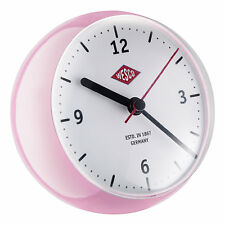 Wesco MiniClock in Pink Rosa Uhr mit Eieruhr Spacy design Kurzzeitmesser Neu OVP