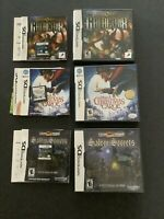 Galactrix, Salem Secrets & Disney's A Christmas Carol Nintendo DS Games Complete