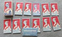 Lames Minerva Acier Extra, 12 vintage safety razor blades with wrappers in box.