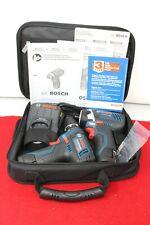 Bosch CLPK22-120 12-Volt 2 Tools Combo Kit - Blue/Black