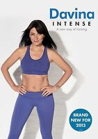 Davina Intense DVD Davina McCall Exercise Fitness Workout UK Rele New Sealed R2