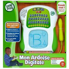 LeapFrog Educational Game My Slate of Numbers + Letters FRENCH LANGUAGE