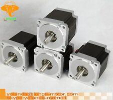 Stepper Motor 4pcs Nema34 880oz-in 8wires 2A 2PHASE 86BYGH CNC machine