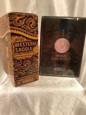 "Avon Wild Country ""Western Saddle"" & Collectible Decanter!"