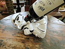 STAR WARS STORMTROOPER GUZZLER Wine Bottle Holder Rack. Great Gift. Licensed