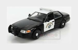 Ford Crown Victoria Police Highway Patrol Interc.2008 GREENLIGHT 1:24 GREEN85523