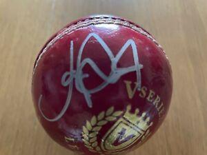 Joe Root Signed Cricket ball - World Cup Winner 2019 +COA