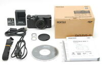 【UNUSED in Box Count 1】 Pentax MX-1 Black 12.0MP Compact Digital Camera JAPAN