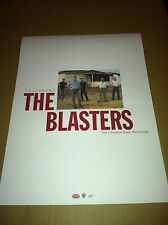 Dave Alvin THE BLASTERS 2002 PROMO POSTER for Testament Complete CD THICK STOCK