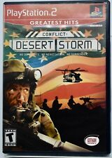 Conflict: Desert Storm Greatest Hits Playstation 2 Complete
