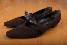 Russell & Bromley Kitten Heel Slip On Strap Women's Size 38 1/2