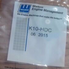 OEM New Walbro Overhaul Repair HDC model Carburetor Kit K10-HDC Repl K1-HDC