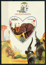 Madagascar 2017 MNH Elephants 1v S/S Elephant Wild Animals Stamps