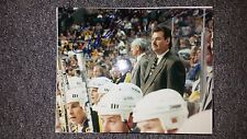 PAT BURNS Boston Bruins Autographed signed 8x10 Photo