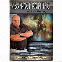 Art Instruction DVD '' Abstract Painting '' Michael Lang How To  Demonstration
